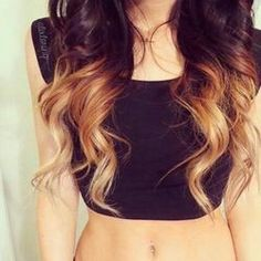 Ombre hair. A must have!