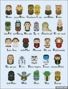 The ABC's of Star Wars