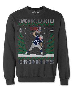 924a6cd9b Rob Gronkowski Gronk Ugly Christmas Sweatshirt Gronk Patriots