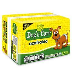 Fralda com Gel Macho 12 Unidades Dog's Care - MeuAmigoPet.com.br #petshop #cachorro #cão #meuamigopet