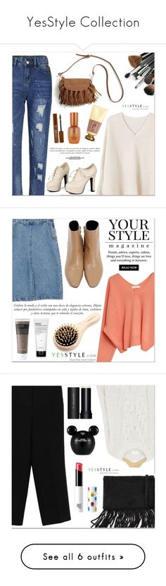 """""""YesStyle Collection"""" by lucky-1990 ❤ liked on Polyvore featuring Flore, Goroke, MANGO, Sidewalk, Sinclair, The History of Whoo, Sulwhasoo, Pussycat, Primera and Disney"""