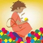 Niña jugando con bolas, #dibujos #dibujosgraficos #dibujosgraficosinfantiles, #dibujosgraficosniños,  #graficos #infantiles, #niños, #dibujosinfantiles, #dibujosniños,  http://www.dibujosgraficos.me-design.es