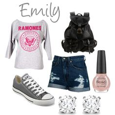 """""""Emily Fields"""" by devyn-rose-brown on Polyvore"""