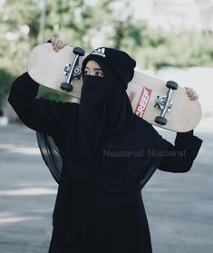 Hijab and niqab Hijab Niqab, Muslim Hijab, Anime Muslim, Niqab Fashion, Muslim Fashion, Hijabi Girl, Girl Hijab, Muslim Girls, Muslim Women