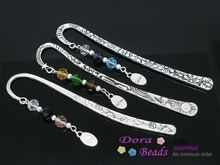"3 main Charm favoris W / Crystal "" Believe "" perles de diapositives 123 mm ( de B06120 )(China (Mainland))"