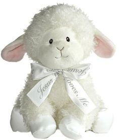 $18 Jesus Loves Me, Musical Lamb  -