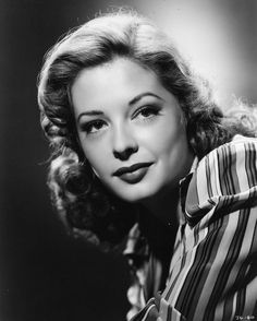 """JANE GREER ~ Born: Sept 9, 1924 in Washington, USA. Died: Augt 24, 2001 (aged 76) of cancer. She was perhaps best known for her role as a femme fatale film noir """"Out of the Past"""" (1947). Howard Hughes spotted Greer modeling in the June 8, 1942, issue of Life mag sent her to Hollywood to become an actress. Hughes lent her out to RKO to star in many films, including """"Dick Tracy"""" (1945),""""The Big Steal"""" (1949), """"The Prisoner of Zenda"""" (1952) and """"The Man of a Thousand Faces"""" (1957)."""