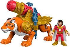 Amazon.com: Fisher-Price Imaginext DC Super Friends Shazam & Tiger Action Figure: Toys & Games