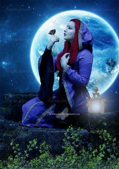 The Rose and The Moon by maiarcita.deviantart.com on @deviantART