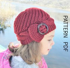 Knitting PATTERN Instant Download Knit hat pattern 2 6 by Ebruk