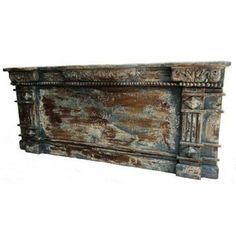 Warbly Vintage Indian Storage Trunk  $449.00