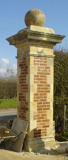 brick entrance gates - Google Search