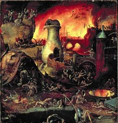 Hieronymus Bosch, Hell | Art of the Day | Magazine | my mood today..