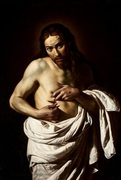 Christ displaying his wounds by Giovanni Antonio Galli (1625-35).