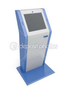 $10 - Touch screen terminal — Stock Image #26140429