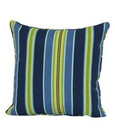 Brentwood Originals Jordana Stripe Leaf Throw Pillow | zulily