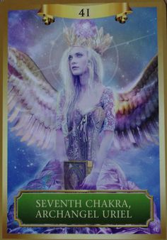 Archangel Uriel assists you with raising your intuition and connecting you with Divine inspiration to fulfill your life's souls mission.