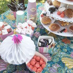 """@jenychooz a participé à une #garden #party ce WE avec la collection """"Le Manège des délices"""""""