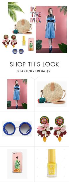 """""""In the Mix"""" by lemoutonbleu-clothing on Polyvore featuring J.Crew, Dolce&Gabbana and The Casery"""