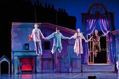 Casey Dalton, Sean Omandam, Shelby Dyer, Adam Still  -Peter Pan 2012-  Colorado Ballet  By Terry Shapiro