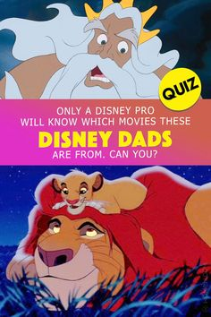 Can you match every Disney Dad to their correct movie? Take this Disney Dad trivia quiz and see if you're a pro! #disney #disneyquiz #disneypro #disneymovie #trivia Disney Quiz, Disney Facts, Disney Movies, Disney Pixar, Disney Characters, Fictional Characters, Disney Personality Quiz, Trivia Quiz, Classic Films