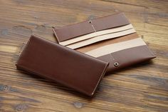 3415 Breast Wallet Double Bill Buttero by HEVITZ on Etsy