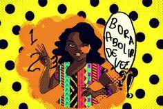 Ilustração Por: Ana Maria Sena