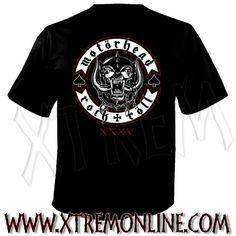 ¡Echa un vistazo a nuestro merchandising de Motörhead! Productos en stock.