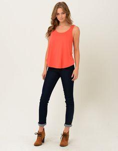 6314901 - Loose Fit Singlet Top Loose Fit, Capri Pants, Tees, My Style, Fitness, Women, Fashion, Moda, Capri Trousers