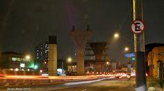 Construção do Monotrilho da Linha 15 - Prata (Vila Prudente - Cidade Tiradentes) - Metrô de São Paulo