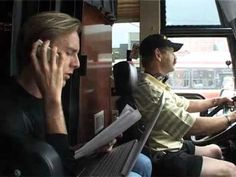 Richie Hawtin & Magda North American Bus Tour 2006 - YouTube