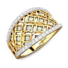 Gold Fashion, Fashion Rings, Buy Gold Chain, Yellow Gold Rings, Silver Rings, Diamond Rings, Diamond Jewelry, Bold Rings, Gold Earrings