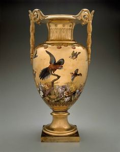 Vase Floréal.Manufactured by Sèvres Manufactory, France Artist Pierre-Philippe Thomire, French, 1751–1843