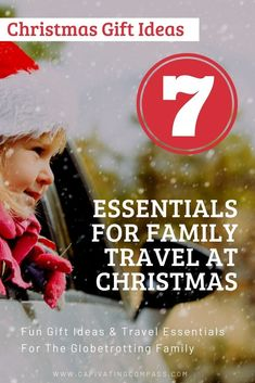 Gift Guide for Families that - Family travel gift ideas for the wanderlust, globetrotting family. Great gift ideas for Christmas, graduation, gap year, birthdays and travel with kids Travel With Kids, Family Travel, Family Vacations, Christmas Planning, Visit France, Travel Gifts, Travel Deals, Gap Year, Travel Essentials