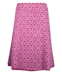 Look what I found on #zulily! Sangria Avaline Reversible Skirt #zulilyfinds