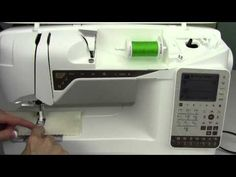 Husqvarna Viking Topaz 25 18 How a Stitch is Made - YouTube