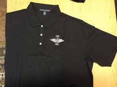 FMF Doc Polo Shirt  Embroidered Polo Shirt  by corpsmanupofficial