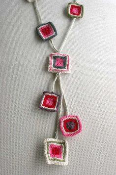 A joyfull summer pendant necklace by MarryG on Etsy