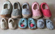 Crochet shoes for children