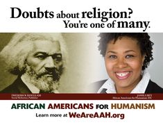 African Americans for Humanism. Awesome Org. Shall Be A Member Someday!! Why? Because I'm Atheist-HUMANIST.