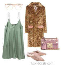 """""""83716939"""" by paulivillalobos on Polyvore featuring Shrimps, Chloé, Nicholas Kirkwood and Gucci"""