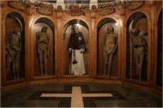 La Chiesa dei Morti, The Church of the Dead, Urbania, Italy