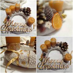 ✨ #advent #adventskranz #gold #homemade #christmas #december