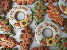 Great autumn/Thanksgiving cookies!#BIthanksgiving dinner on #Bingoisland.