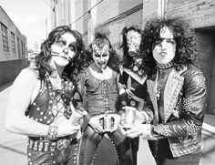 "Image result for The ""Creem"" photos of Kiss without makeup (1974)"
