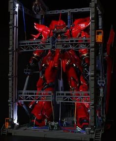 GUNDAM GUY: MG 1/100 Sinanju - Diorama Build