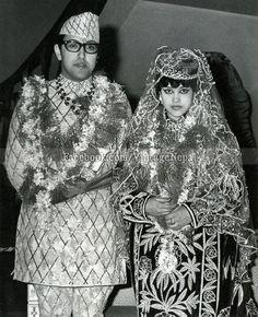 HM King Birendra and HM Queen Aishwarya