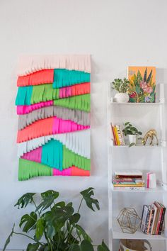 a cut paper wall hanging... | Oh Joy! | Bloglovin'
