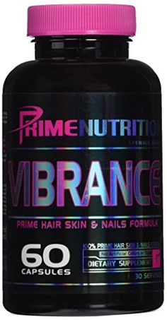 Prime Nutrition Vibrance Supplement 60 Count *** You can get additional details at the affiliate link Amazon.com.