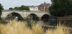 Richmond Bridge view from East Twickenham